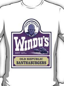Windu's Old Republic Banthaburgers T-Shirt