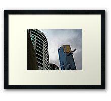 Quay West, IBM & Eureka Skydeck Buildings Framed Print