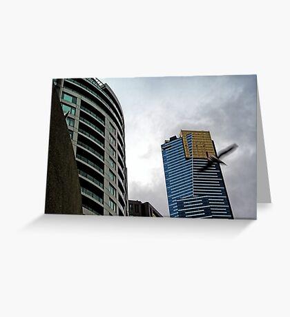 Quay West, IBM & Eureka Skydeck Buildings Greeting Card