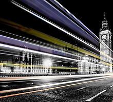 Big Ben and Westminster by Ian Hufton