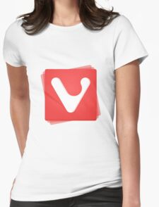 vivaldi browser Womens Fitted T-Shirt