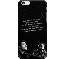 SAM, DEAN, BABY, AND STARS iPhone Case/Skin