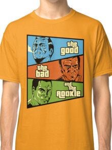 The Good, the Bad and the Rookie Classic T-Shirt