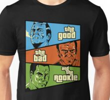 The Good, the Bad and the Rookie Unisex T-Shirt