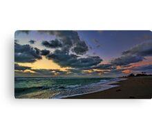 Clouds at Sunset - Venice,  Florida Canvas Print