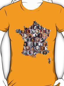 French hexagons T-Shirt