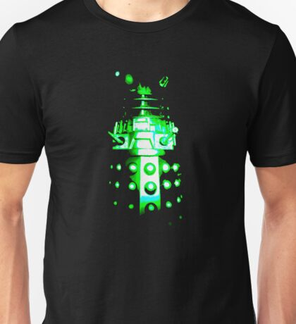 Dalek Alpha – Green Unisex T-Shirt