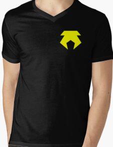 Metal Bending Police Uniform Mens V-Neck T-Shirt