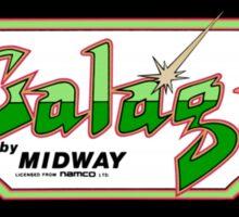 Galaga Arcade Sticker