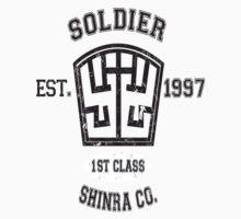 Shinra SOLDIER Final Fantasy VII by MikeCotopolis