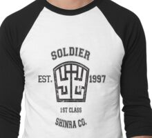 Shinra SOLDIER Final Fantasy VII Men's Baseball ¾ T-Shirt
