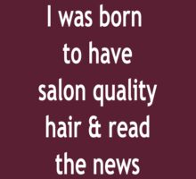 Burgundy Salon Quality Hair White by stumpys