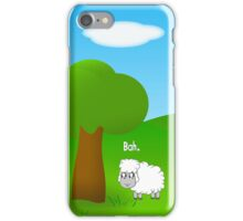 Sheep on a Field iPhone Case/Skin