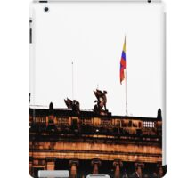 Plaza Of Bolivar, Colombia. iPad Case/Skin
