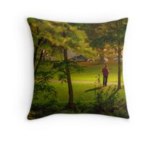 down-and-out Throw Pillow