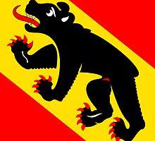 Flag of Bern Canton by abbeyz71