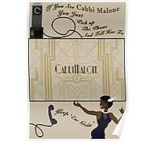 Cabbi Malone Keep Er' Goin' Poster