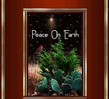 Peace On Earth ~ Phone Case by Penny Odom
