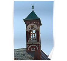 Bell Tower - St. Mary's Historical Church Poster