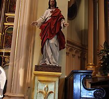 Sacred Heart of Jesus - St. Mary's Historical Church by John Schneider