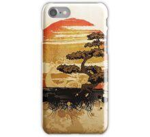 A relaxing Japanese garden iPhone Case/Skin