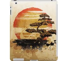 A relaxing Japanese garden iPad Case/Skin