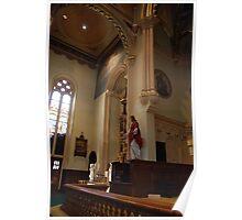 Altar of St, John the Baptist & Sacred Heart - St. Mary's Historical Church Poster