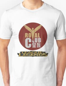 ROYAL CLUB League Of Legends World Finals T-Shirt