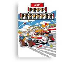 Retro - Arcade Pole Position (1982) Canvas Print