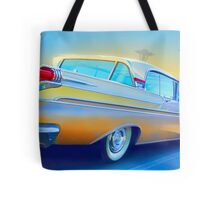 The Future is in the Past Tote Bag