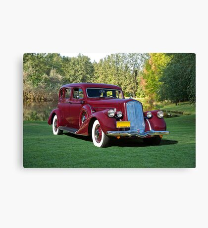1936 Pierce-Arrow 1601 Sedan Canvas Print
