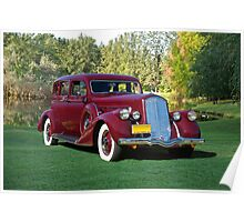 1936 Pierce-Arrow 1601 Sedan Poster