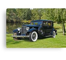 1933 Packard Sedan Canvas Print