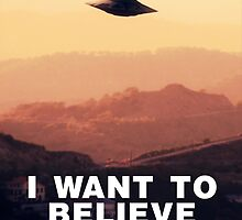I Want to Believe by Raphael Terra by esotericaart