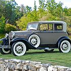 1931 Ford Model A Victoria III by DaveKoontz