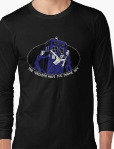 The Walkers have the Phonebox Long Sleeve T-Shirt
