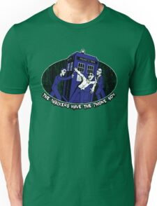 The Walkers have the Phonebox Unisex T-Shirt