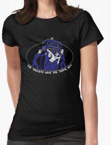The Walkers have the Phonebox Womens Fitted T-Shirt