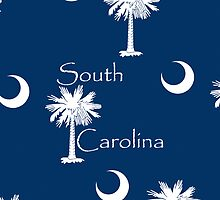 Smartphone Case - State Flag of South Carolina X by Mark Podger