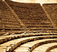 Worn By Time - Pompeii by Mark Tisdale