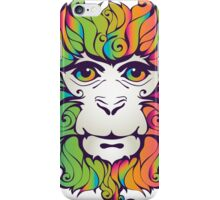 Colorful Monkey iPhone Case/Skin