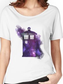 Tardis in space Women's Relaxed Fit T-Shirt