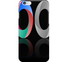 Abstract Infinite Loop / Ring Sign iPhone Case/Skin