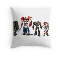 transformers design t-shirt Throw Pillow