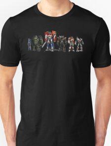 transformers design t-shirt Unisex T-Shirt