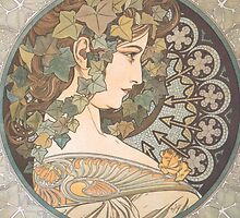 Mucha – Erin by William Martin