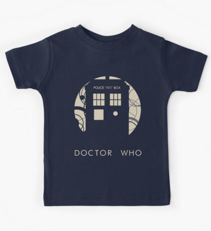 Doctor Who Poster Kids Tee