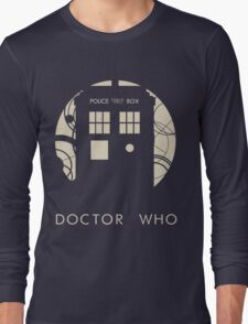 Doctor Who Poster Long Sleeve T-Shirt