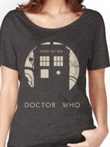 Doctor Who Poster Women's Relaxed Fit T-Shirt