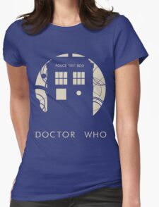 Doctor Who Poster Womens Fitted T-Shirt